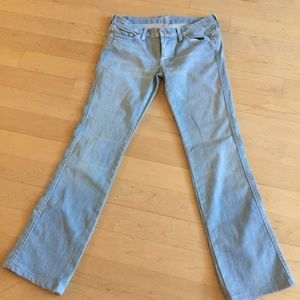 7 For all Mankind pants bottoms jeans sz 29 A pock